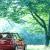 車のフロントにサンシェードをつけて暑い日のお出かけを楽しくしよう
