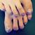 夏はフットネイルの季節!紫を使ったおすすめのネイルデザイン7選!