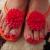 夏はフットネイルの季節!暖色カラーを使ったおすすめのフットネイルデザイン7選!