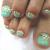 夏はフットネイルの季節!緑を使ったおすすめのネイルデザイン7選!