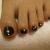 夏はフットネイルの季節!黒を使ったおすすめのネイルデザイン7選!