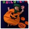 【ハロウィン手作り仮装・赤ちゃん編】かぼちゃの衣装は簡単に作ることができる
